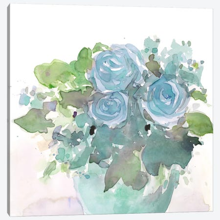 Spring Arrangement I Canvas Print #DIX25} by Samuel Dixon Canvas Art