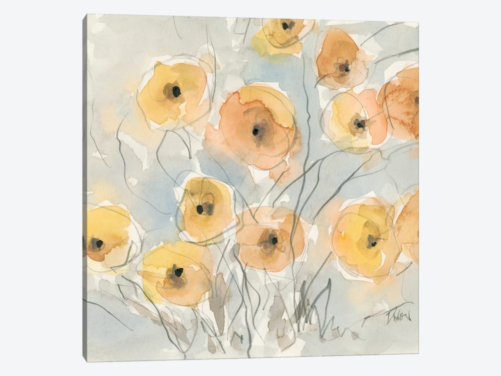 Sunset Poppies I by Samuel Dixon 1-piece Art Print