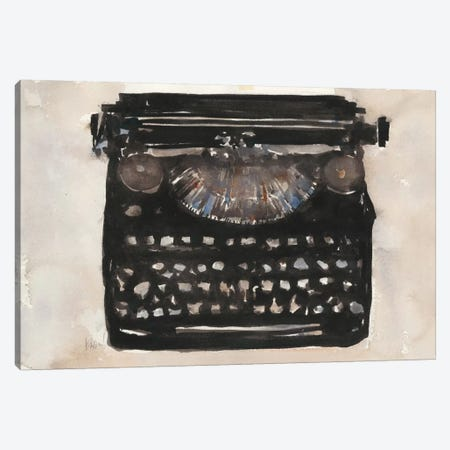 Typing I Canvas Print #DIX29} by Samuel Dixon Canvas Art Print
