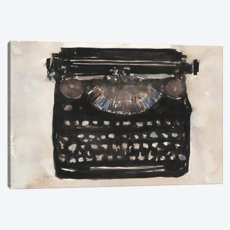 Typing I Canvas Print #DIX29} by Samuel Dixon Canvas Art Print