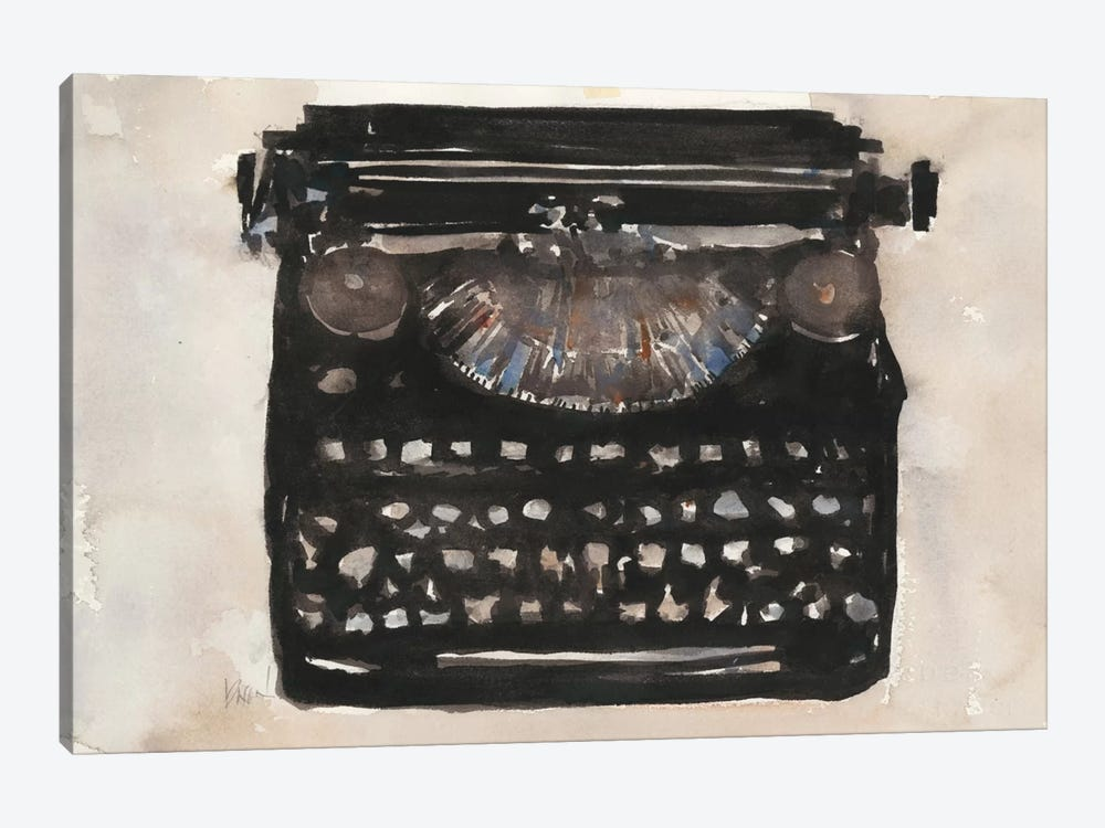 Typing I by Samuel Dixon 1-piece Canvas Print