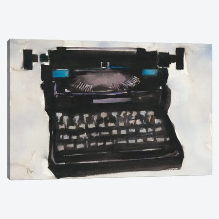 Typing II Canvas Print #DIX30} by Samuel Dixon Canvas Artwork