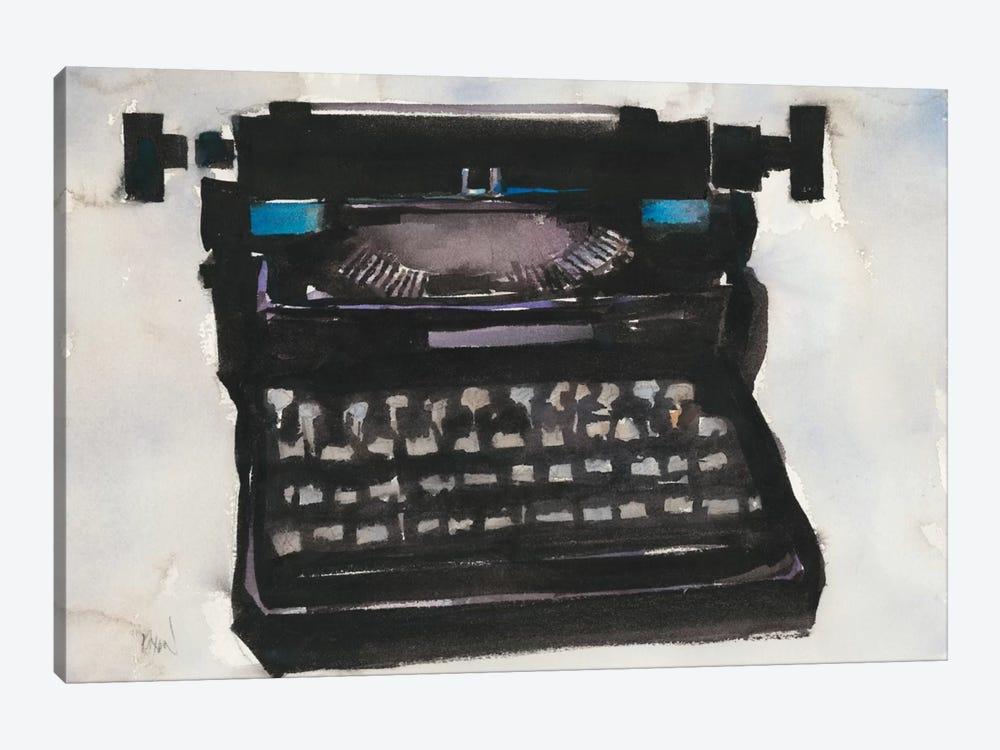 Typing II by Samuel Dixon 1-piece Canvas Art Print