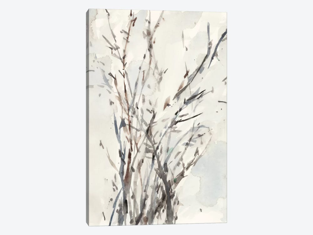 Watercolor Branches I 1-piece Canvas Wall Art