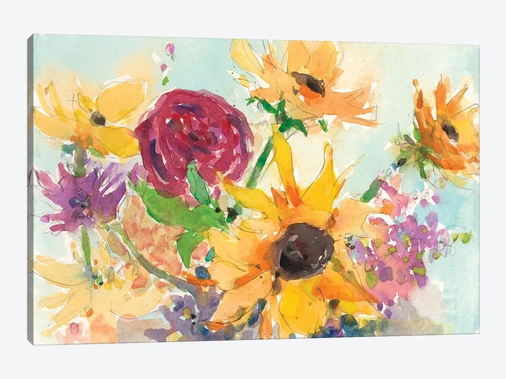Bright Wild Flowers II by Samuel Dixon 1-piece Art Print