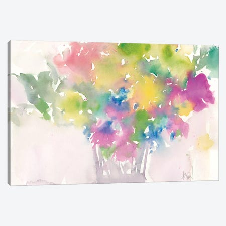 Floral Moment I Canvas Print #DIX43} by Samuel Dixon Canvas Art Print