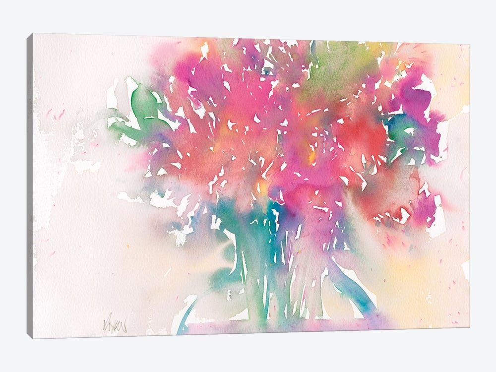 Floral Moment II by Samuel Dixon 1-piece Canvas Wall Art