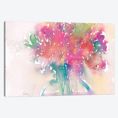 Floral Moment II Canvas Print #DIX44} by Samuel Dixon Canvas Artwork