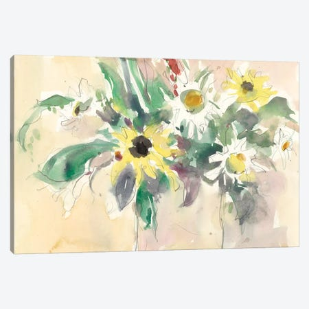 Garden Inspiration I Canvas Print #DIX45} by Samuel Dixon Canvas Artwork