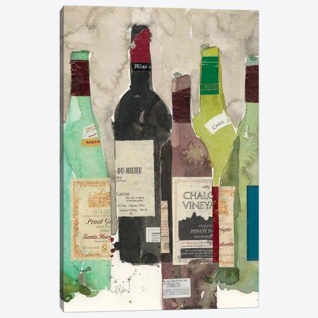 Red Or White I Canvas Print #DIX48} by Samuel Dixon Canvas Art Print