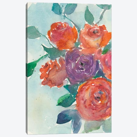 Rose Appeal I Canvas Print #DIX50} by Samuel Dixon Canvas Artwork