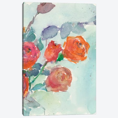 Rose Appeal II Canvas Print #DIX51} by Samuel Dixon Canvas Art
