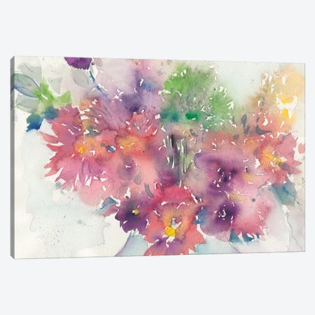 The Arrangement Canvas Print #DIX52} by Samuel Dixon Canvas Wall Art