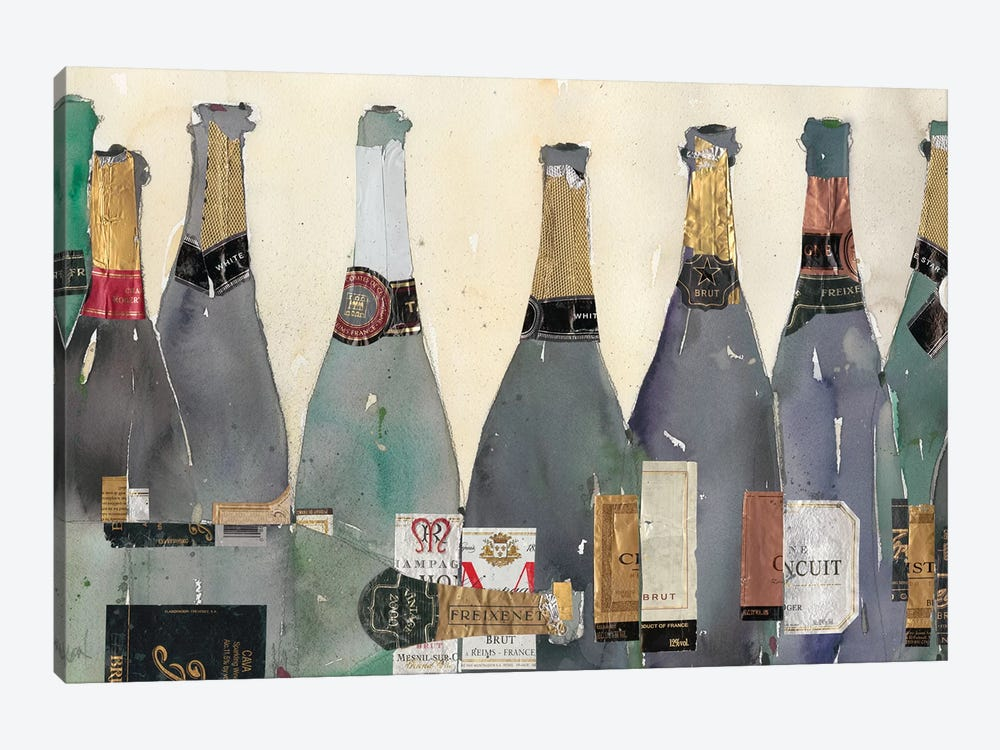 Uncorked II by Samuel Dixon 1-piece Canvas Art Print