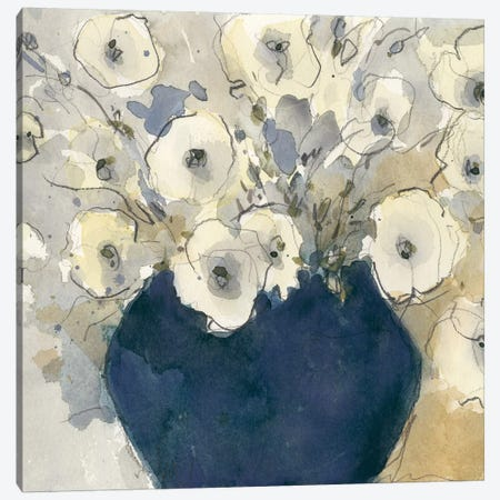 White Blossom Study II Canvas Print #DIX56} by Samuel Dixon Canvas Art Print