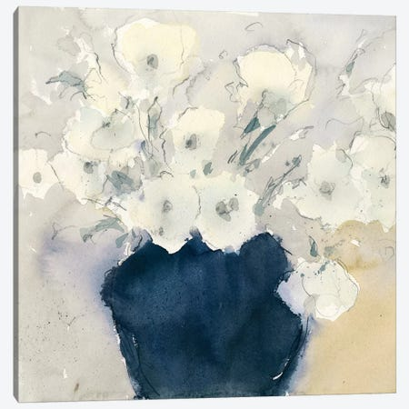 White Bouquet Canvas Print #DIX57} by Samuel Dixon Canvas Print