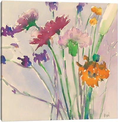Wild Flower Cuttings Canvas Art Print