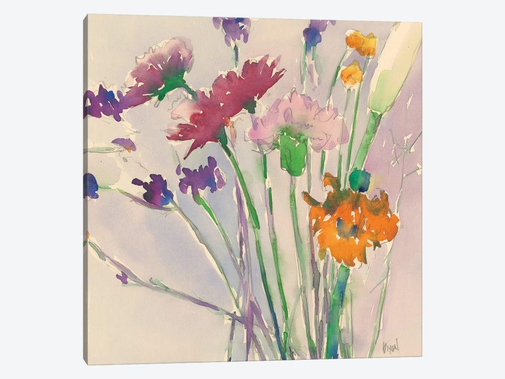 Wild Flower Cuttings by Samuel Dixon 1-piece Canvas Art Print