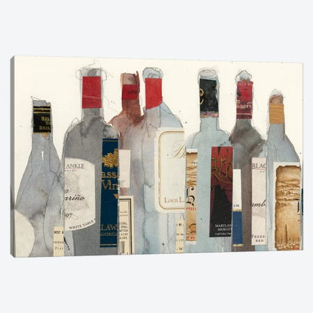 Wine & Spirit I Canvas Print #DIX59} by Samuel Dixon Canvas Artwork