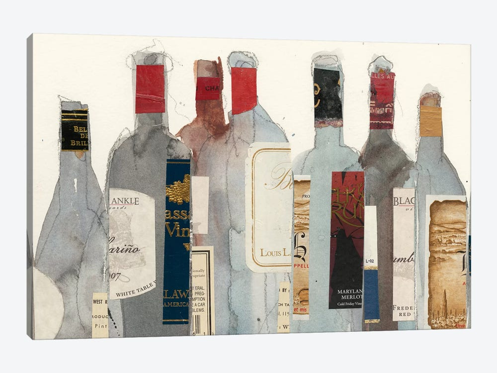 Wine & Spirit I by Samuel Dixon 1-piece Canvas Artwork