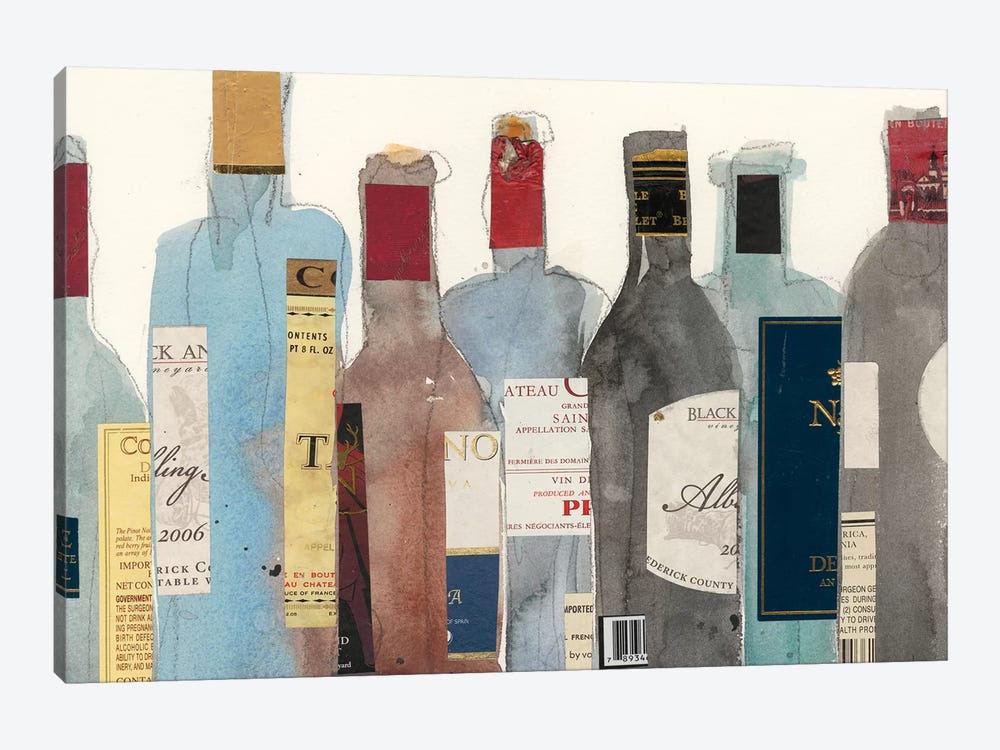Wine & Spirit II by Samuel Dixon 1-piece Canvas Wall Art