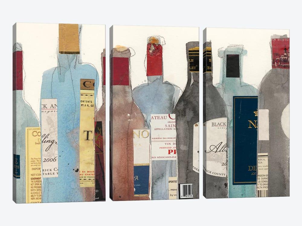 Wine & Spirit II by Samuel Dixon 3-piece Canvas Art
