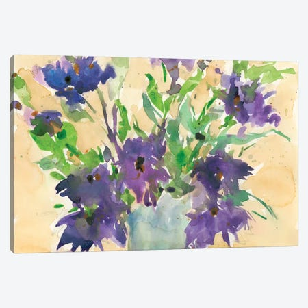 Floral Wild Thing I Canvas Print #DIX61} by Samuel Dixon Art Print
