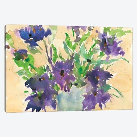 Floral Wild Thing I Canvas Print #DIX61} by Samuel Dixon Art Print