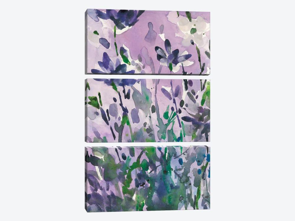 Garden Moment I by Samuel Dixon 3-piece Canvas Print