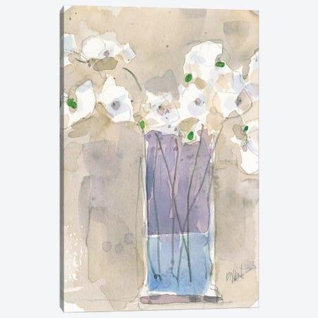 Little Vase I Canvas Print #DIX67} by Samuel Dixon Canvas Art
