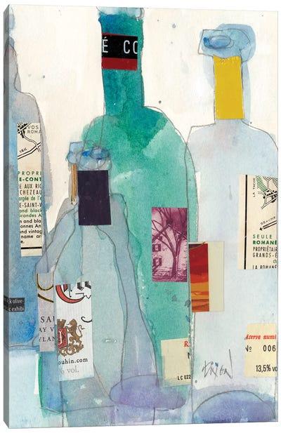 The Wine Bottles II Canvas Art Print