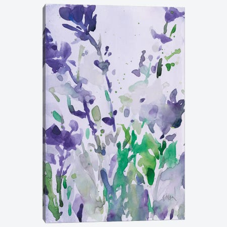 Violet Garden Moment I Canvas Print #DIX73} by Samuel Dixon Canvas Wall Art