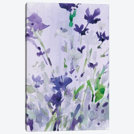 Violet Garden Moment II Canvas Print #DIX74} by Samuel Dixon Canvas Art Print