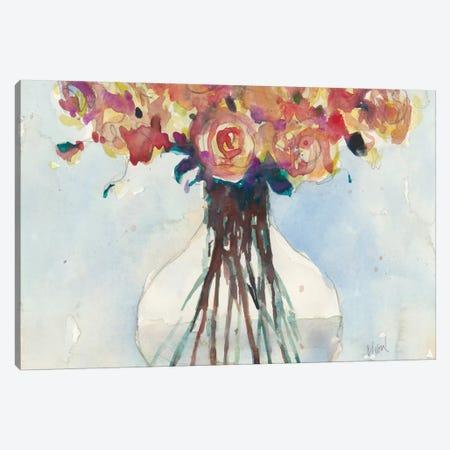 Faded Roses I Canvas Print #DIX81} by Samuel Dixon Art Print
