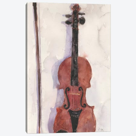 The Violin Canvas Print #DIX82} by Samuel Dixon Canvas Print