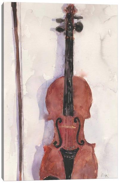 The Violin Canvas Art Print