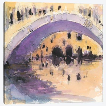 Under The Bridge Canvas Print #DIX83} by Samuel Dixon Canvas Print
