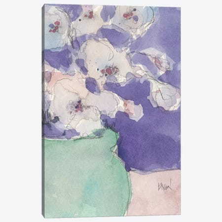 Floral Objects I Canvas Print #DIX84} by Samuel Dixon Canvas Art