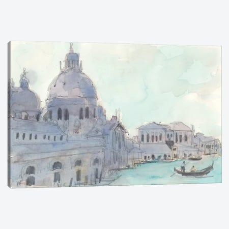 Santa Maria Della Salute Moment Canvas Print #DIX88} by Samuel Dixon Art Print