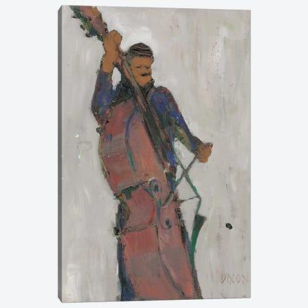 The Man Behind The Bass Canvas Print #DIX8} by Samuel Dixon Canvas Artwork