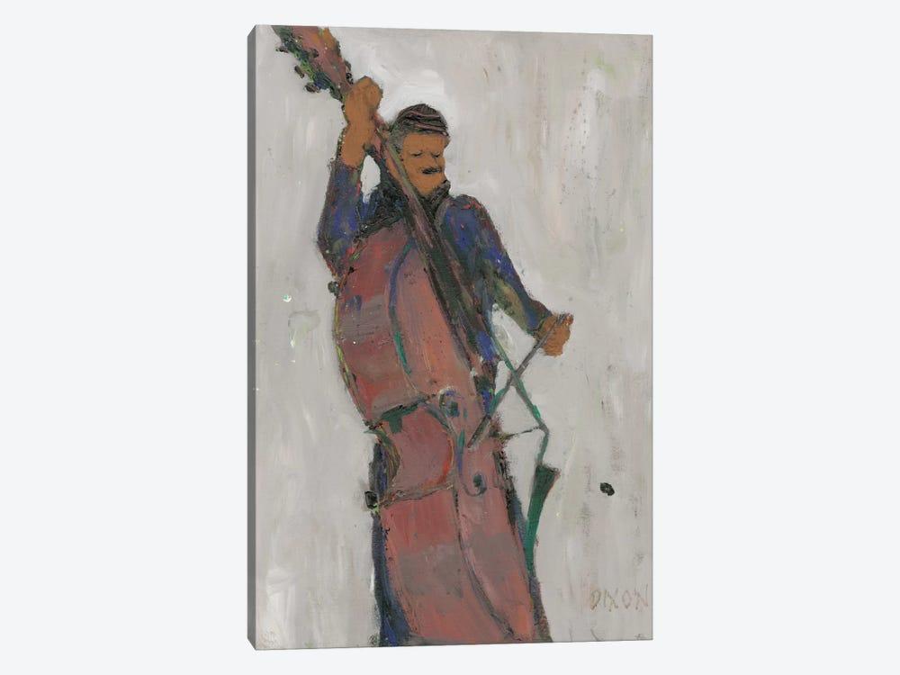 The Man Behind The Bass by Samuel Dixon 1-piece Art Print