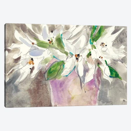 Magnolia Charm I Canvas Print #DIX91} by Samuel Dixon Canvas Art