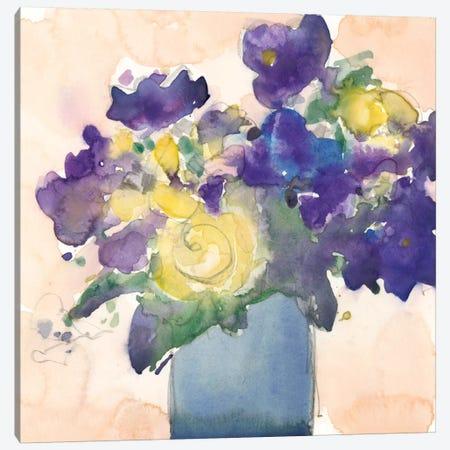 Floral Beauties II Canvas Print #DIX99} by Samuel Dixon Canvas Art