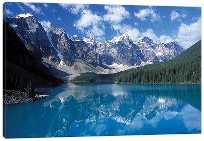 Valley Of The Ten Peaks & Moraine Lake, Banff National Park, Alberta, Canada Canvas Art Print