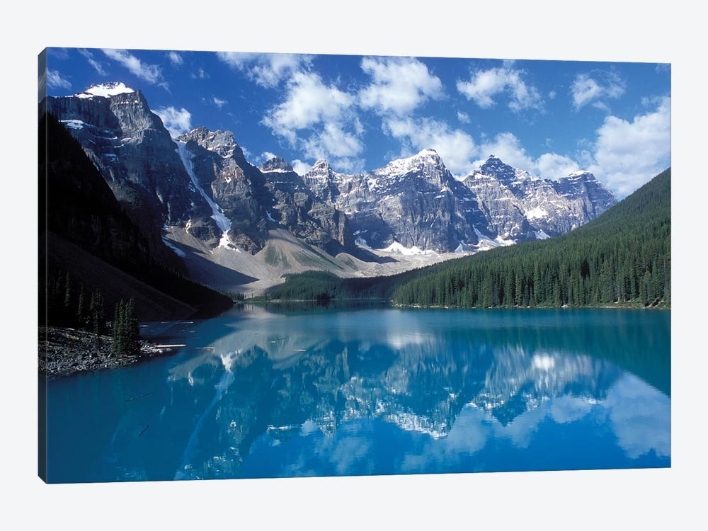 Valley Of The Ten Peaks & Moraine Lake, Banff National Park, Alberta, Canada by Diane Johnson 1-piece Canvas Print