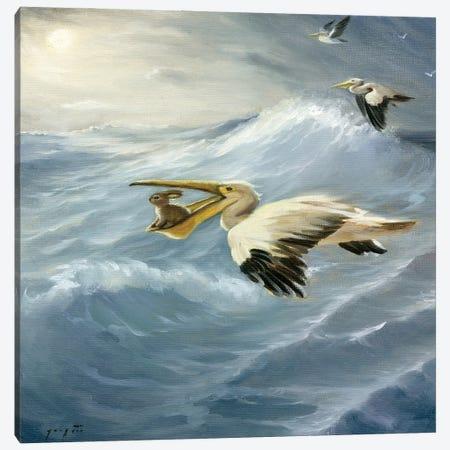 Isabella And The Storm Canvas Print #DJQ30} by David Joaquin Canvas Art Print