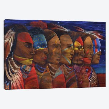 Night Dancers Canvas Print #DJQ37} by David Joaquin Canvas Art