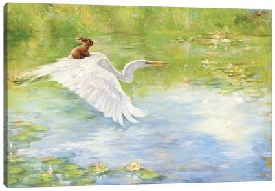 Isabella Takes Flight Canvas Art Print