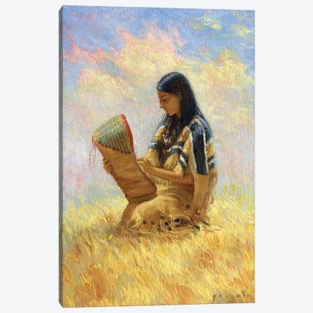 Motherhood Canvas Print #DJQ44} by David Joaquin Canvas Print