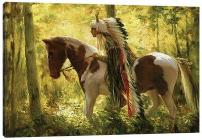 Warhorse Canvas Art Print